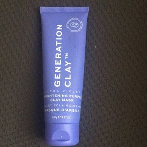 NWOT Generation Clay Violet Facial Mask